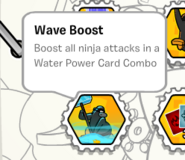 Wave boost stamp book