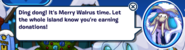 Merry Walrus - Plaza dialogue