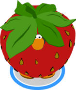 Strawberry Costume in-game
