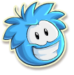 Blue puffle selected