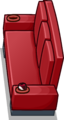 Red Designer Couch sprite 011