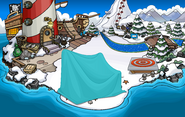 Club Penguin Island Party Beach