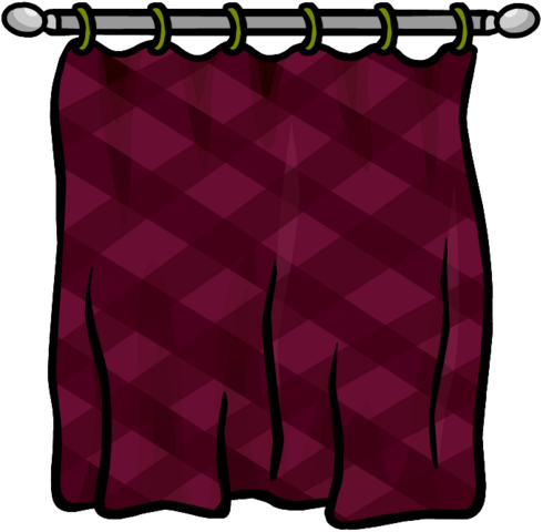 File:Burgundy Curtains furniture icon ID 624.png