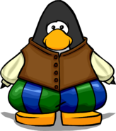 Bard Outfit from a Player Card