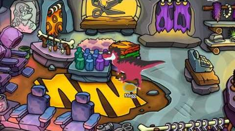 2016 Prehistoric Party Walkthrough - Disney Club Penguin
