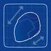 Blueprint Motorcycle Helmet icon
