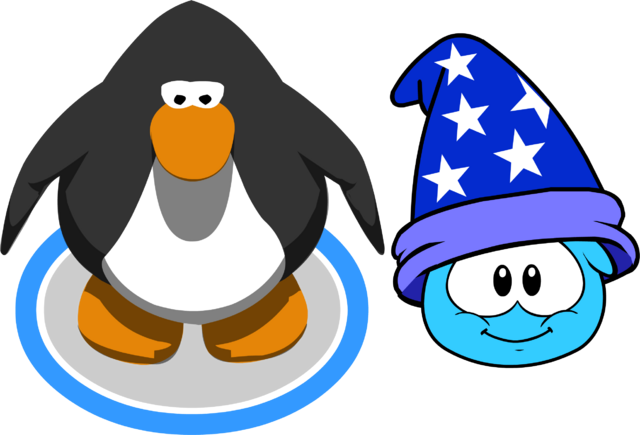 File:Puffle Hat Wizard Hat ID 83 in game.png