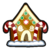 Gingerbread House Pin icon