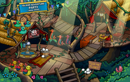 10th Anniversary Party Tree Forts