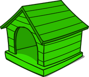 Green Puffle House sprite 002