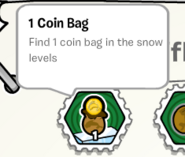 1 coin bag PR stamp book