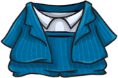 Blue Zoot Suit clothing icon ID 4013