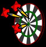 Dart Board sprite 006