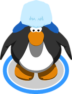 Blue Holiday Cap In-Game