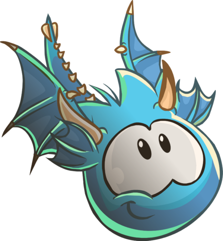 File:Blue Puffle Dragon.png