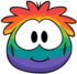 Rainbow Puffle Costume clothing icon ID 4810