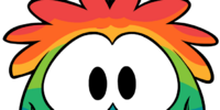 Rainbow Puffle Costume