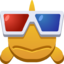 Emoji Fish With Glasses