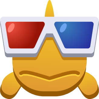 Emoji Fish With Glasses