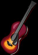 Acoustic Sunburst Guitar clothing icon ID 730