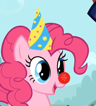 File:Pinkie Pie with CP Items S1E25.png