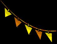 Orange Triangle Pennants sprite 003