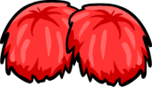 Red Pom Poms icon