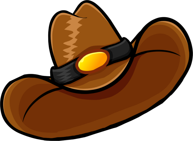 File:Brown Cowboy Hat clothing icon ID 1240.png