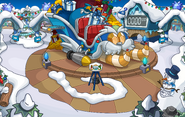 Merry Walrus Party Snow Forts