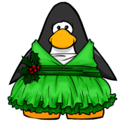 Holly Elf Dress from a Player Card