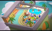 Puffle Hotel Play Zone