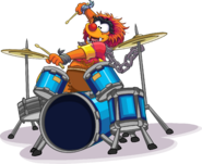 Animal on drums