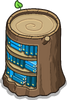 Stump Bookcase sprite 019