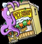 Submarine Party Pet Shop exterior