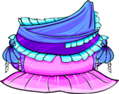 Blue Mermaid Costume icon