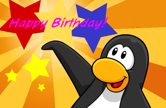 image  birthdaycard  club penguin wiki  fandom powered by wikia, Birthday card