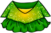 Green Figure Skating Dress clothing icon ID 4139