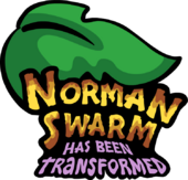 Norman Swarm has been Tranformed Logo