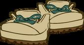 Beige Hiking Boots