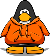 Orange Hoodie Player Card