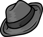 Gray Fedora