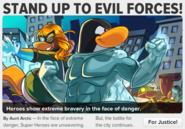 STAND UP TO EVIL FORCES