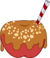 Caramel Apple Costume icon
