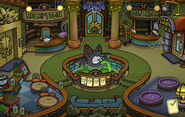 Halloween Party 2015 Puffle Hotel Lobby