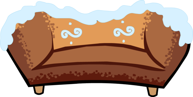 File:Gingerbread Couch furniture item.png