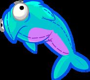 Blue Fluffy Stuffie icon
