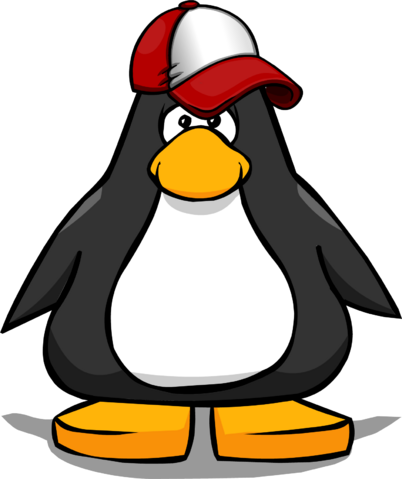 File:New Player Red Baseball Hat from a Player Card.PNG