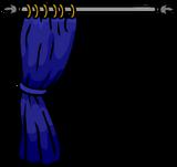 Blue Curtain sprite 005