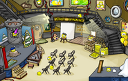 Puffle Party 2012 Lighthouse