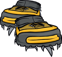 Yellow Hiking Shoes.png